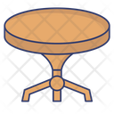 Dining Table Restaurant Table Dinner Table Icon