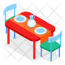 Dining Table Icon