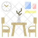 Dining Table Room Icon