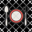 Dinner Plate Restaurant Icon