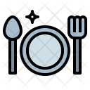 Dinner Cutlery Dish Icon