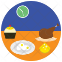 Dinner Date Food Icon