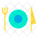 Food Lunch Plate Icon
