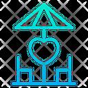 Heart Love Restaurant Icon