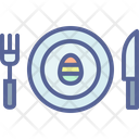 Egg Meal Easter Icon