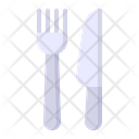 Dinner Fork Knife Icon