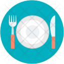 Dinner Plate Date Icon
