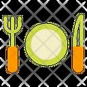 Dinner Resaurant Fork Icon