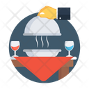 Dinner Meal Food Icon