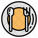 Dish Plate Spoon Icon