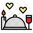 Dinner Food Restaurant Icon