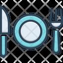 Dinner Household Platter Icon