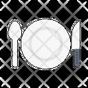 Restaurant Dish Food Icon