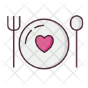 Dinner Food Meal Icon