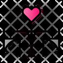 Date Dinner Love Icon