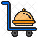 Logistic Food Delivery Icon