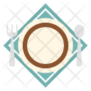 Dinner Set Vacation Icon