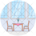 Dinner Table Kitchen Table Dining Table Icon