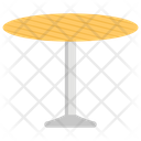 Dinner Table Dining Round Table Icon