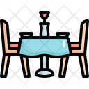 Dinner Table Love Icon