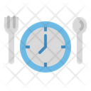 Meal Clock Cook Icon