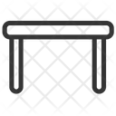 Dinning Table Desk Furniture Icon