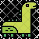 Dinosaur Animals Life Icon