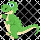 Tyrannosaurus Dinosaur Saurian Icon