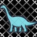 Dinosaur Herbivore Dangerous Icon