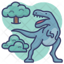 Animal Jurassic Rex Icon
