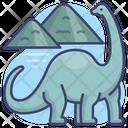 Animal Diplodocus Jurassic Icon