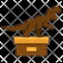 Dinosaur Fossil Museum Icon