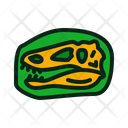 Dinosaur Fossil Icon