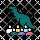 Dinosaur Show Icon