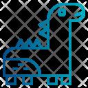 Toy Dinosaur Animals Icon