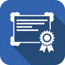 Diploma Education License Icon