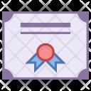 Diploma Certificate Diploma Icon