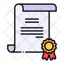 Diploma Certificate Certification Icon