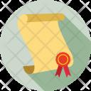 Degree Deed Diploma Icon