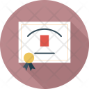 Diploma Education Certificate Icon