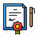 Certificate Education School Icon