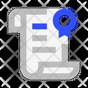 Diploma Scroll Icon