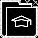 Graduate Study Folder Icon