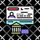 Diplomatic Visa Icon