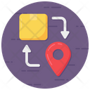 Direction Path Direction Delivery Direction Icon