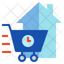 Delivery Direct Sale Icon
