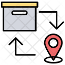 Direct Delivery Fast Icon