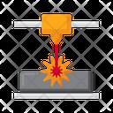 Direct Metal Laser Sintering Icon