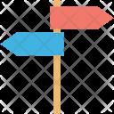 Direction Arrows Post Icon
