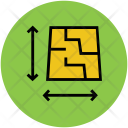 Direction Dimensional Plot Icon